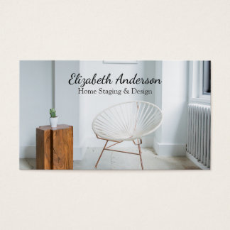 Home Staging Professional Business Card