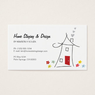 Home Staging / Real Estate Business Cards