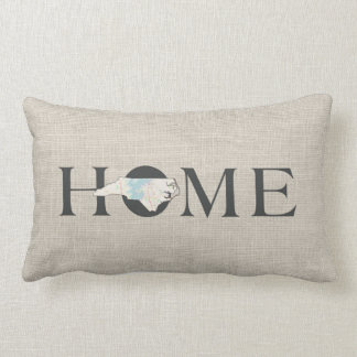 HOME State North Carolina Lumbar Pillow