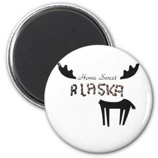 Home Sweet Alaska Magnet