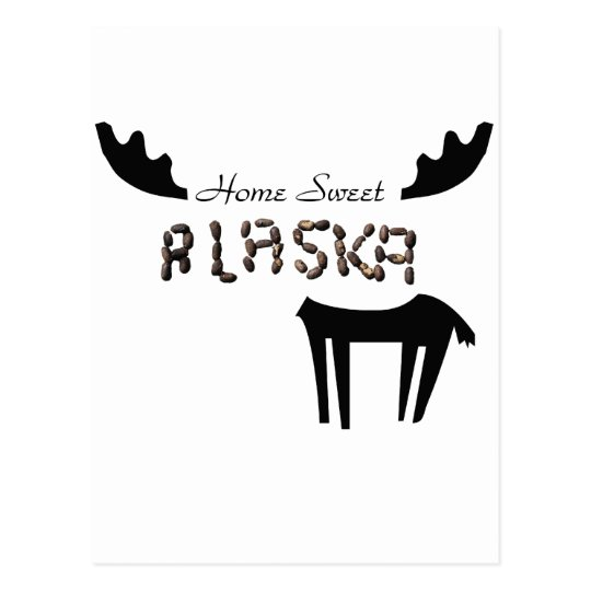 Home Sweet Alaska Postcard