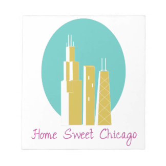 Home Sweet Chicago Memo Note Pads