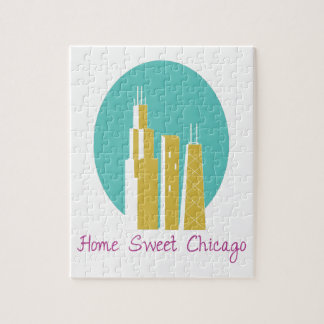 Home Sweet Chicago Jigsaw Puzzles