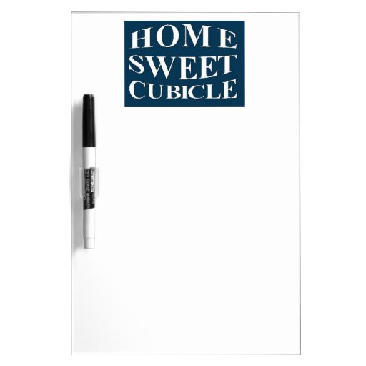 Home Sweet Cubicle Dry-Erase Board