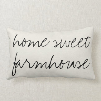 Home Sweet Farmhouse | Lumbar Pillow