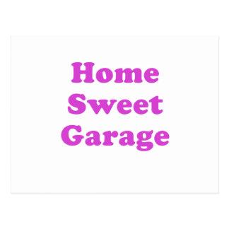 Home Sweet Garage Postcard