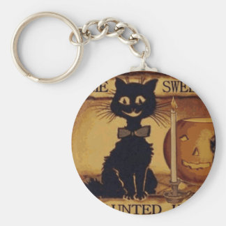 Home Sweet Haunted Home Keychain
