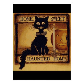 Home Sweet Haunted Home Postcards