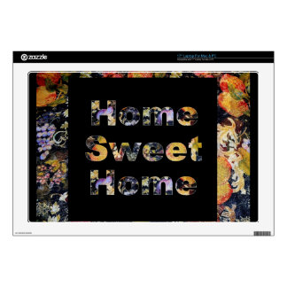 "Home Sweet Home 17"" Laptop Decal"