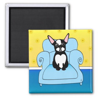Home Sweet Home 2 Inch Square Magnet