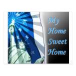 home sweet home 2 postcard