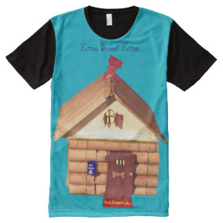 Home Sweet Home All-Over Print T-shirt
