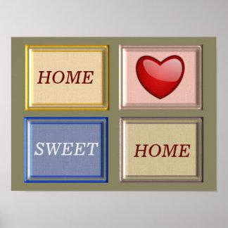 Home Sweet Home - Art Print