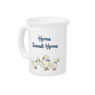 Home Sweet Home Beverage Pitcher
