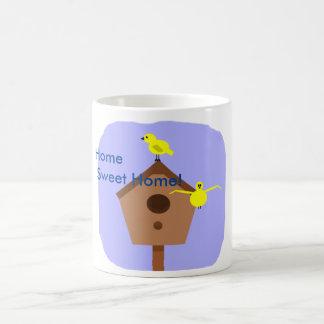 Home sweet home bird nest box mug