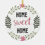 Home Sweet Home Botanical Ornament