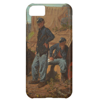 Home, Sweet Home, c.1863 (oil on canvas) iPhone 5C Cover