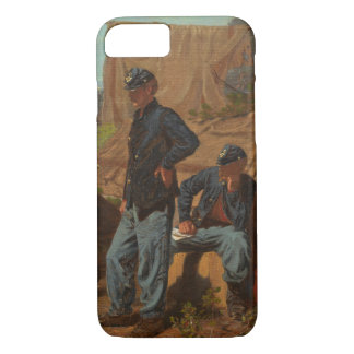 Home, Sweet Home, c.1863 (oil on canvas) iPhone 8/7 Case