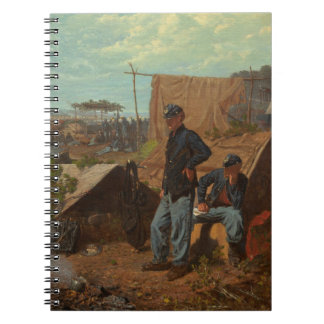 Home, Sweet Home, c.1863 (oil on canvas) Notebook