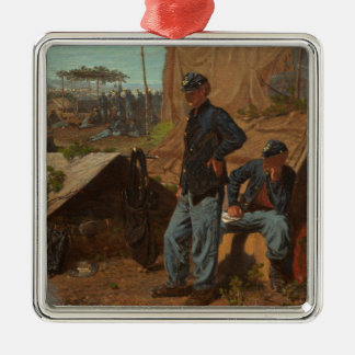 Home, Sweet Home, c.1863 (oil on canvas) Christmas Tree Ornament