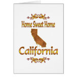Home Sweet Home California Greeting Cards