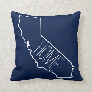 Home Sweet Home California Throw Pillow