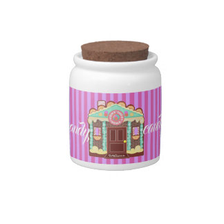 Home Sweet Home candy jar