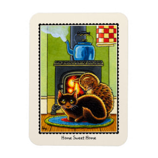 'Home Sweet Home' Cat Magnet