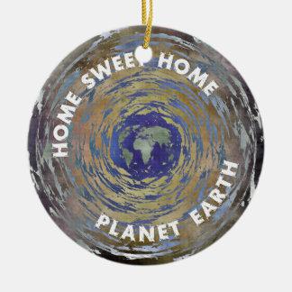 Home Sweet Home Ceramic Ornament