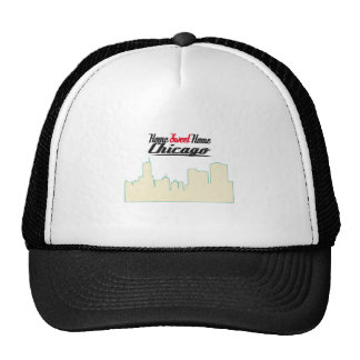 Home Sweet Home Chicago Mesh Hats