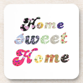 Home Sweet Home Beverage Coasters