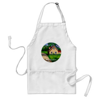 HOME SWEET HOME COUNTRY COTTAGE ADULT APRON