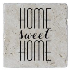 Home Sweet Home Custom Color Trivet