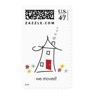 Home Sweet Home Custom Postage