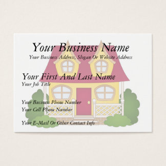 Home Sweet Home - Daytime Business Card