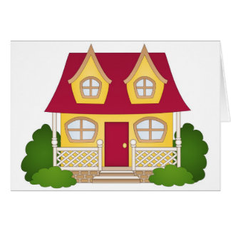 Home Sweet Home - Daytime Greeting Card