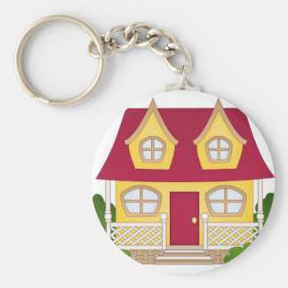 Home Sweet Home - Daytime Key Chains