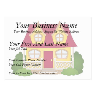 Home Sweet Home - Daytime Large Business Card