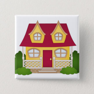 Home Sweet Home - Daytime Pinback Button