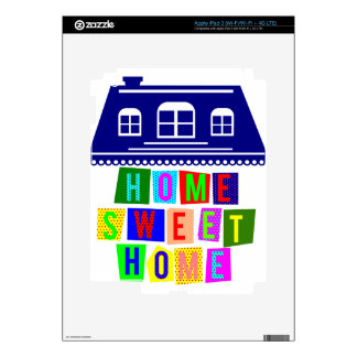 home sweet home decals for iPad 3