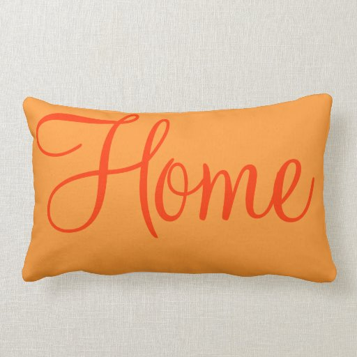 Home Sweet Home Decorative Bedroom Accent Throw Pillow