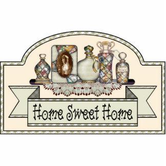 """""""Home Sweet Home"""" - Decorative Door Sign Statuette"""