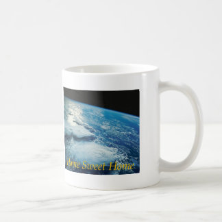 Home Sweet Home Earth from Orbit Coffee Mug