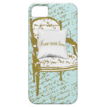Home Sweet Home, French Script iPhone 5 Case