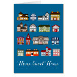 Home Sweet Home Houses Cards