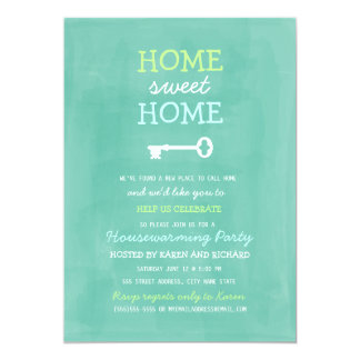 Home Sweet Home Housewarming Invite