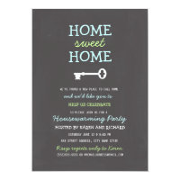 Home Sweet Home Housewarming Invite