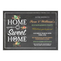 Home Sweet Home Housewarming New Home Invitation