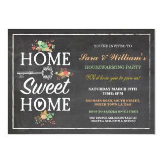Home Sweet Home Housewarming New Home Invitation