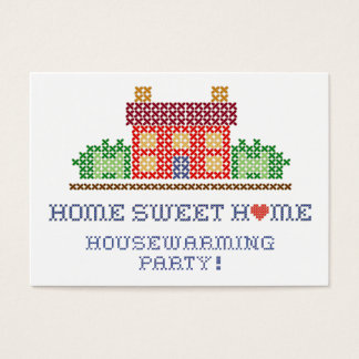 Home Sweet Home Housewarming Party Business Card
